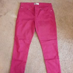 ANKLE SKINNY JEANS